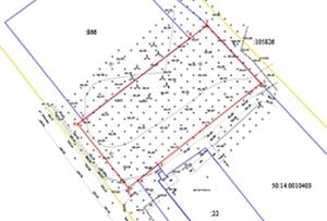 Схема расположения земельного участка на кадастровом плане территории. Московская область, Щелковский муниципальный район.