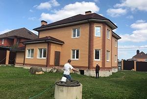 Обмер дома для подготовки технического плана. Солнечногорский район