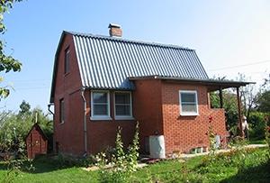 Обмер дома для подготовки технического плана. Сергиево-Посадский район