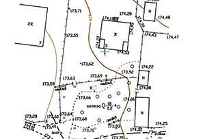 Топосъемка земельного участка, выполнена для изготовления схемы планировочной организации земельного участка. Московская область, Пушкинский муниципальный район.