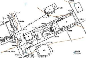 Топосъемка земельного участка, выполнена для подключения коммуникаций. Московская область, г. Королев.