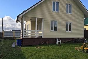 Обмер дома для изготовления техплана. Сергиево-Посадский муниципальный район