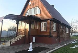 Обмер садового дома для подготовки технического плана. Сергиево-Посадский район от 10 ноября 2017