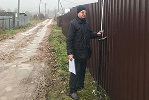 Топографическая съемка для подготовки межевого и технического планов. Сергиево-Посадский муниципальный район от 12 ноября 2017
