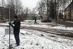 Топосъемка для подготовки схемы расположения земельного участка на кадастровом плане территории. г. Орехово-Зуево