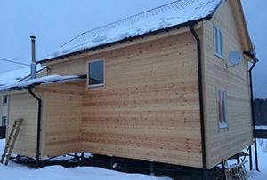 Привязка дома и обмер для подготовки технического плана на жилое строение. Сергиево-Посадский муниципальный район