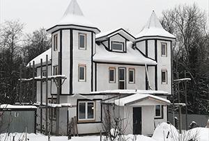 Обмер жилого строения для подготовки техплана. Сергиево-Посадский муниципальный район