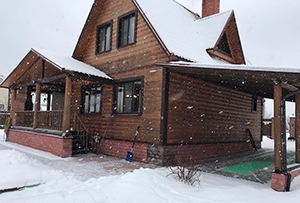 Обмер жилого дома для подготовки технического плана. Сергиево-Посадский муниципальный район