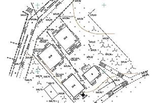 Топосъемка земельного участка, выполнена для оформления прирезки к существующему участку, г. Москва.
