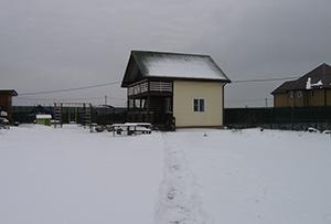 Обмер жилого строения в ДНТ для подготовки технического плана. Сергиево-Посадский муниципальный район
