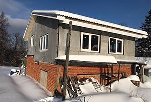 Обмер садового дома для подготовки технического плана. Сергиево-Посадский район