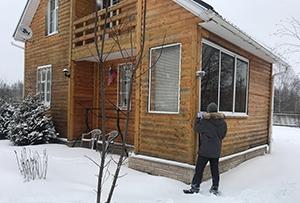 Привязка и обмер садового дома для подготовки технического плана. Сергиево-Посадский муниципальный район