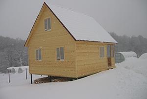 Привязка и обмер жилого строения в ДНТ для подготовки техплана. Сергиево-Посадский район