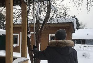 Привязка и обмер жилого строения и бани для подготовки технических планов. Сергиево-Посадский район