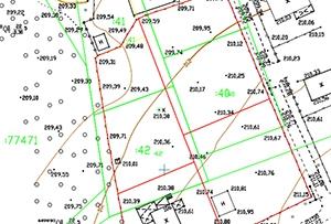 Топосъемка земельного участка, выполнена для подготовки межевого плана. Московская область, Сергиево-Посадский муниципальный район.