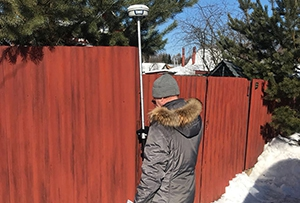 Топографическая съемка выполнена для газоснабжения жилого дома. Сергиево-Посадский район, г. Краснозаводск