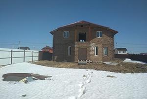 Привязка и обмер жилого дома для подготовки технического плана. Сергиево-Посадский муниципальный район