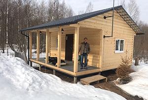 Привязка и обмер жилого строения для подготовки технического плана. Сергиево-Посадский муниципальный район