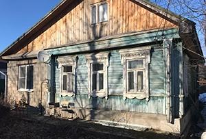 Привязка жилого дома для подготовки технического плана. Сергиево-Посадский муниципальный район