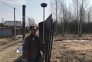 Топосъемка выполнена для подготовки межевого плана в СНТ. Сергиево-Посадский район