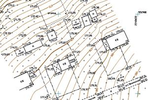 Топосъемка выполнена для получения разрешения на строительство и межевания. Московская область, г.п. Богородское.