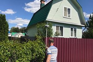 Привязка и обмер дома для подготовки технического описания. Сергиево-Посадский муниципальный район