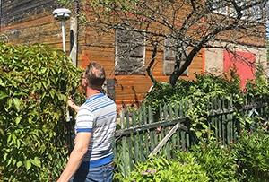 Привязка и обмер жилого дома для подготовки технического описания. Сергиево-Посадский р-н