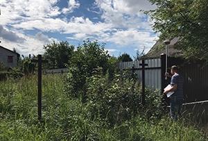 Топографическая съёмка для подготовки межевого плана. г. Хотьково