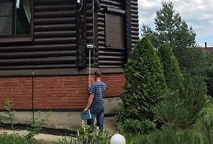Топографическая съёмка для подготовки межевания. Сергиево-Посадский район