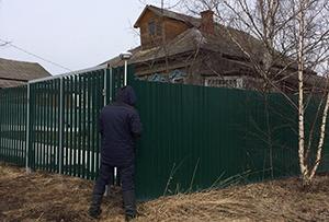 Топосъемка выполнена для установления точных границ земельного участка. Сергиево-Посадский район.