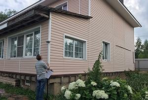 Привязка и обмер для подготовки  технического плана на раздел жилого дома. Сергиево-Посадский район