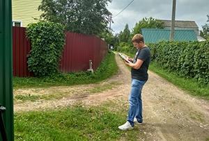 Топографическая съемка для оформления земель общего пользования в СНТ. Сергиево-Посадский муниципальный район