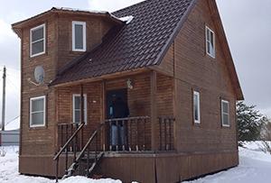 Обмер дома для подготовки технического плана. г. Сергиев Посад.