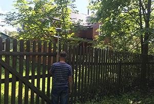 Топографическая съемка выполнена для подключения инженерных коммуникаций. г. Сергиев Посад