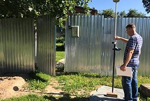 Топосъемка выполнена для водоснабжения жилого дома. г. Сергиев Посад