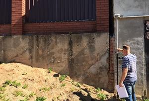 Топосъемка выполнена для газоснабжения жилого дома. г. Сергиев-Посад