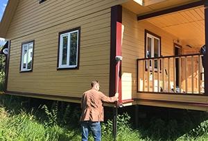 Привязка и обмер дома для подготовки технического плана