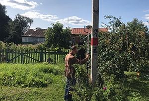 Топографическая съемка для водосабжения жилого дома. г. Сергиев Посад