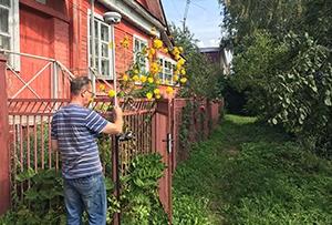 Топосъемка для водосабжения жилого дома. г. Сергиев Посад