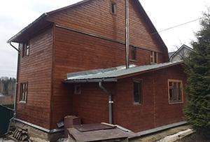 Обмер дома для подготовки технического плана. Сергиево-Посадский муниципальный район.