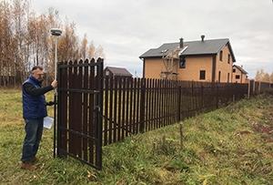 Топосъемка выполнена для получения уведомления о планируемом строительстве объекта ИЖС. Сергиево-Посадский муниципальный район