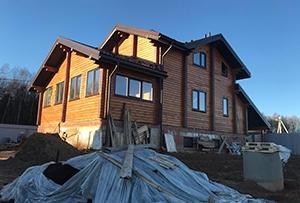 Привязка и обмер жилого дома для подготовки технического плана. Сергиево-Посадский р-н
