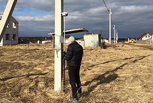 Топографическая съемка выполнена для получения разрешения на строительство. г. Сергиев Посад.