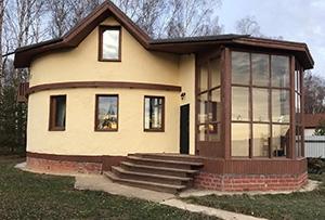 Привязка и обмер жилого дома для подготовки технического плана. Чеховский район