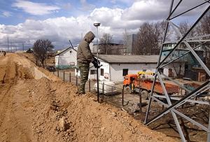 Геодезическая съемка земельного участка при помощи GNSS оборудования, г. Москва
