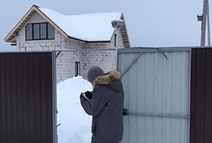 Топосъемка выполнена для газоснабжения жилого дома. Сергиево-Посадский район