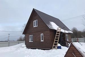 Привязка и обмер жилого дома для подготовки техплана. Сергиево-Посадский муниципальный район