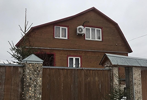 Привязка и обмер жилого дома для подготовки технического плана. Рузский район