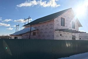 Привязка и обмер жилого дома для подготовки техплана. Сергиево-Посадский район