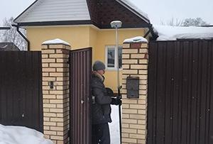Топосъемка выполнена для подготовки межевого план. г. Сергиев Посад